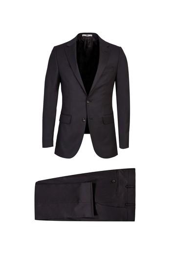 Erkek Giyim - Kuşgözü Klasik Takım Elbise
