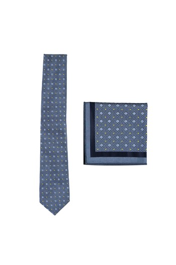 Erkek Giyim - Kravat Mendil Set