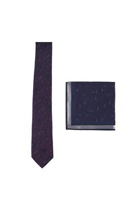 Erkek Giyim - AÇIK BORDO  Beden Kravat Mendil Set