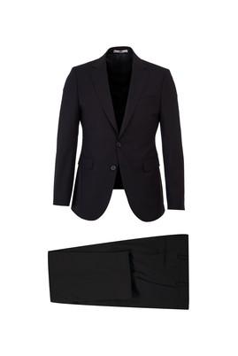 Erkek Giyim - SİYAH 46 Beden Slim Fit Antibakteriyel Takım Elbise