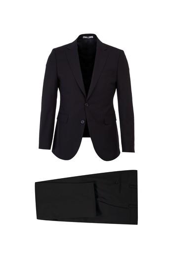 Erkek Giyim - Slim Fit Antibakteriyel Takım Elbise