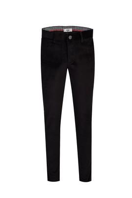 Erkek Giyim - SİYAH 50 Beden Kadife Pantolon