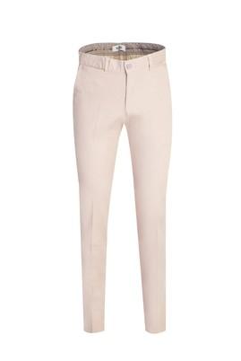 Erkek Giyim - ORTA BEJ 48 Beden Slim Fit Spor Pantolon