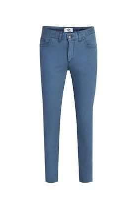 Erkek Giyim - GÖK MAVİSİ 44 Beden Denim Pantolon