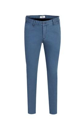 Erkek Giyim - GÖK MAVİSİ 46 Beden Kuşgözü Spor Pantolon