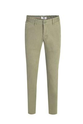 Erkek Giyim - ÇİMEN YEŞİLİ 50 Beden Slim Fit Kuşgözü Spor Pantolon