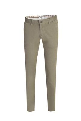 Erkek Giyim - ÇİMEN YEŞİLİ 46 Beden Slim Fit Desenli Spor Pantolon