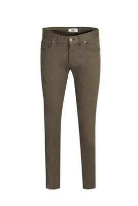 Erkek Giyim - ORTA HAKİ 46 Beden Denim Pantolon