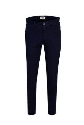 Erkek Giyim - KOYU LACİVERT 44 Beden Slim Fit Spor Pantolon