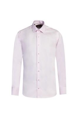 Erkek Giyim - TOZ PEMBE XXL Beden Uzun Kol Non Iron Slim Fit Gömlek