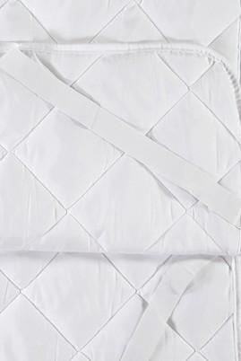 Erkek Giyim - BEYAZ  Beden Çift Kişilik Yatak Alezi (160x200)