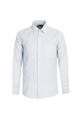 Erkek Giyim - UÇUK MAVİ L Beden Uzun Kol Desenli Gömlek