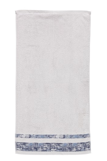 Erkek Giyim - Bordürlü Jakarlı Yüz Havlusu (50x90)