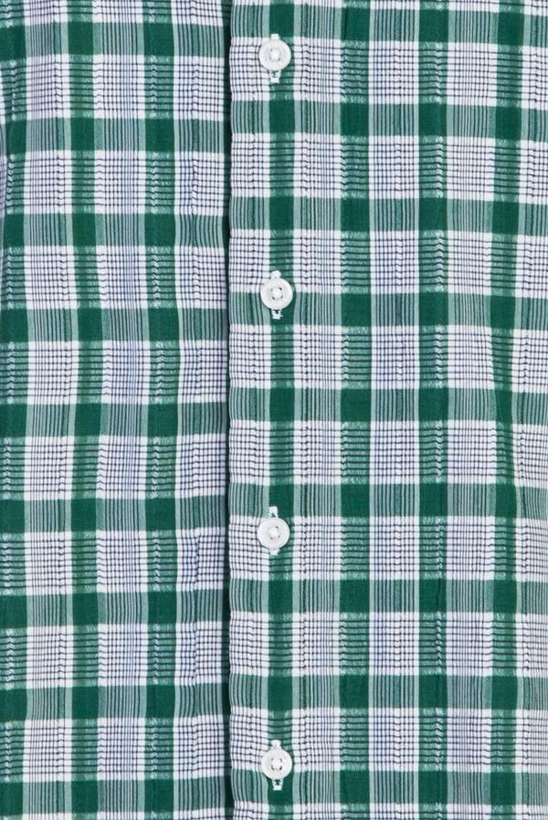 Uzun Kol Ekose Slim Fit Gömlek