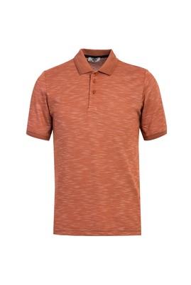 Erkek Giyim - TARÇIN L Beden Polo Yaka Desenli Regular Fit Tişört