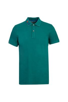 Erkek Giyim - NEFTİ M Beden Polo Yaka Slim Fit Tişört