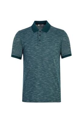 Erkek Giyim - NEFTİ M Beden Polo Yaka Desenli Regular Fit Tişört