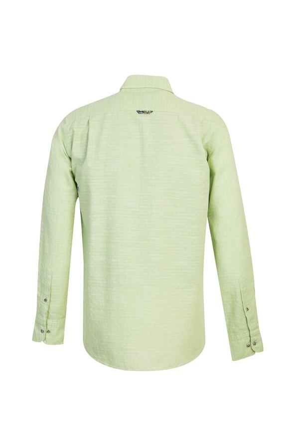 Uzun Kol Regular Fit Desenli Gömlek