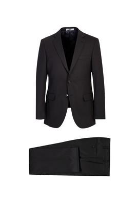 Erkek Giyim - SİYAH 48 Beden Yünlü Klasik Takım Elbise