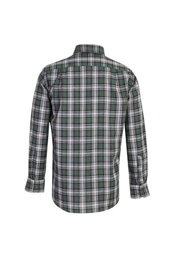 Erkek Giyim - Uzun Kol Desenli Regular Fit Gömlek