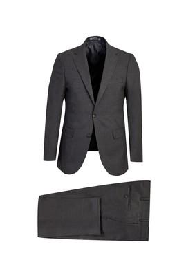 Erkek Giyim - BULUT GRİ 48 Beden Yünlü Klasik Takım Elbise