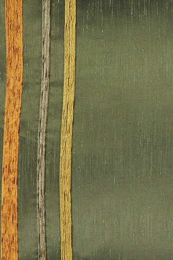 Erkek Giyim - Şönil Çizgili Tafta Kırlent (45x45)