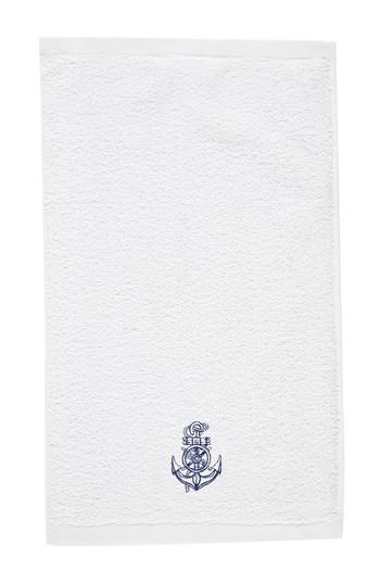 Erkek Giyim - Çapa Nakışlı El Havlusu (30x50)