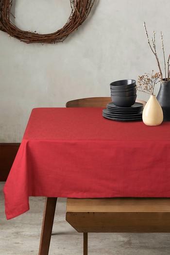 Erkek Giyim - Pamuklu Masa Örtüsü (4-6 Kişilik)