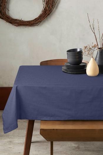 Erkek Giyim - Pamuklu Masa Örtüsü (6-8 Kişilik)