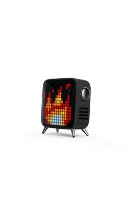 Erkek Giyim - Siyah  Beden Tivoo Max Pixel Art Bluetooth Hoparlör