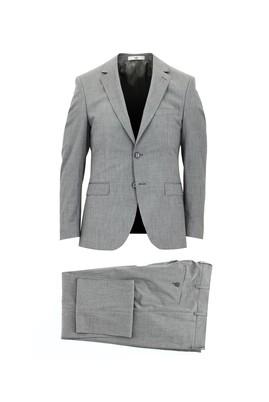 Erkek Giyim - AÇIK SİYAH 54 Beden Slim Fit Takım Elbise