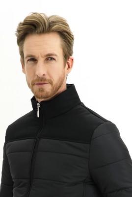Erkek Giyim - Siyah L Beden Spor Mont