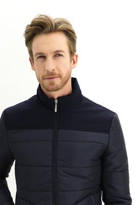 Erkek Giyim - ORTA LACİVERT L Beden Spor Mont
