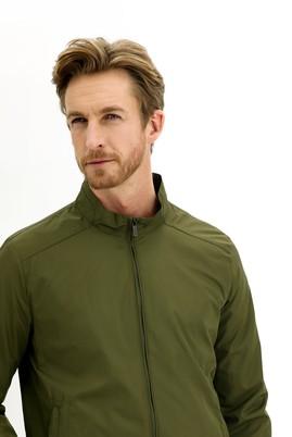Erkek Giyim - KOYU YEŞİL 48 Beden Mevsimlik Spor Mont