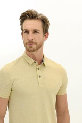 Erkek Giyim - HARDAL L Beden Polo Yaka Slim Fit Tişört