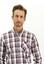 MERCAN KIRMIZI  Uzun Kol Regular Fit Ekose Gömlek