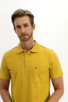 Erkek Giyim - SAFRAN 3X Beden Polo Yaka Regular Fit Tişört