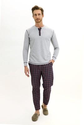 Erkek Giyim - KOYU LACİVERT L Beden Pijama Takımı