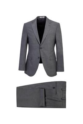 Erkek Giyim - ORTA GRİ 56 Beden Slim Fit Takım Elbise