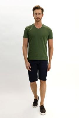 Erkek Giyim - KOYU LACİVERT LOT4 46 Beden Bermuda Şort
