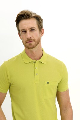 Erkek Giyim - LIME 3X Beden Polo Yaka Regular Fit Tişört