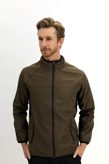 Erkek Giyim - Outdoor Softshell Mont