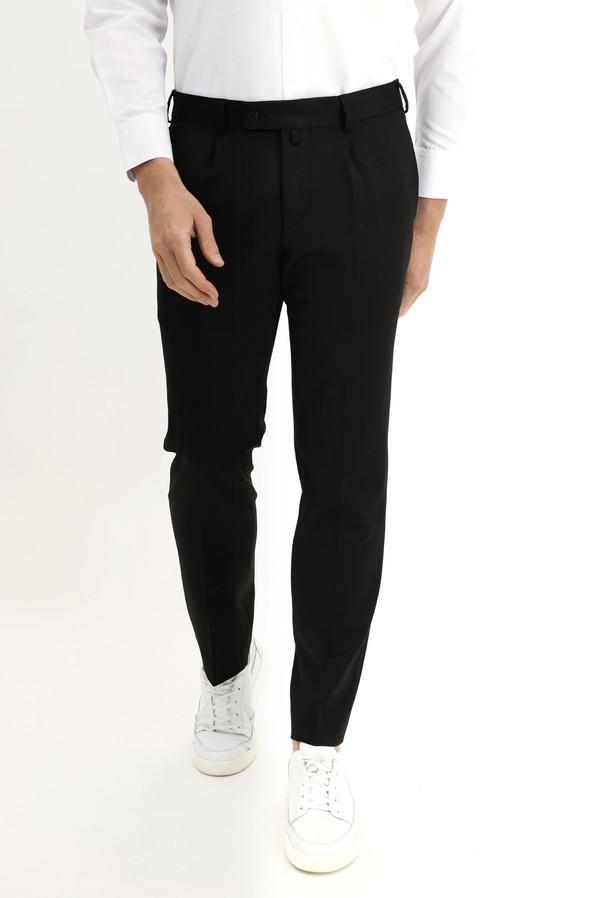 Slim Fit Pileli Klasik Pantolon