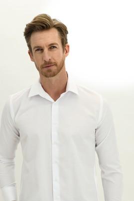 Erkek Giyim - BEYAZ XL Beden Uzun Kol Non Iron Klasik Gömlek