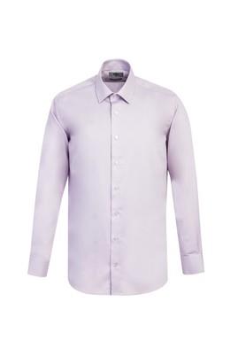 Erkek Giyim - LİLA XL Beden Uzun Kol Slim Fit Non Iron Gömlek