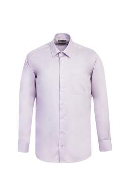 Erkek Giyim - LİLA M Beden Uzun Kol Non Iron Klasik Gömlek