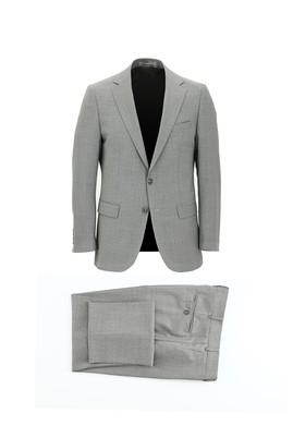Erkek Giyim - AÇIK GRİ 52 Beden Klasik Takım Elbise