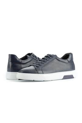 Erkek Giyim - ORTA LACİVERT 43 Beden Sneaker Ayakkabı