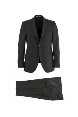 Erkek Giyim - SİYAH 62 Beden Klasik Takım Elbise