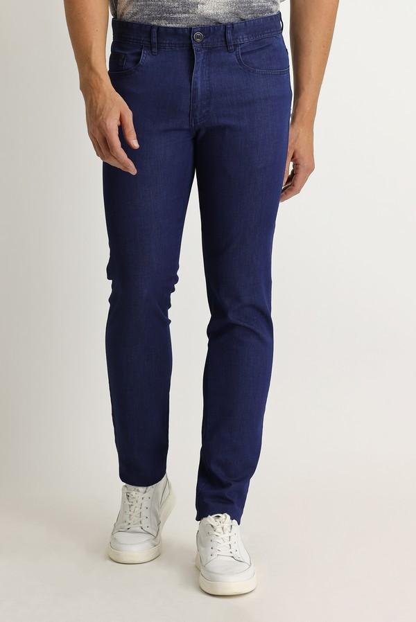 Slim Fit Denim Look Pantolon